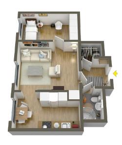 Знижка 15% на натяжну стелю у всій квартирі